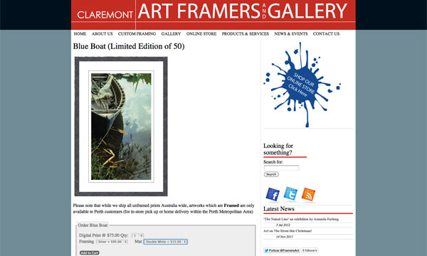 Claremont Art Framers